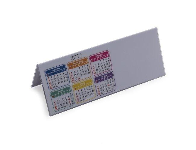 Calendário Plástico 2017