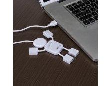 Boneco Hub com 4 entradas USB