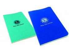 Caderneta de bolso