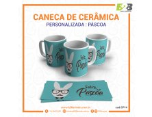 CANECA CERÂMICA - PÁSCOA
