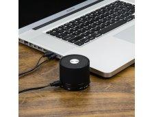 Caixa de som Bluetooth.