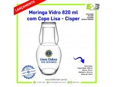 MORINGA DE VIDRO LIONS CLUBS INTERNATIONAL