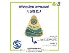 PIN PRESIDENTE INTERNACIONAL AL 2018 2019